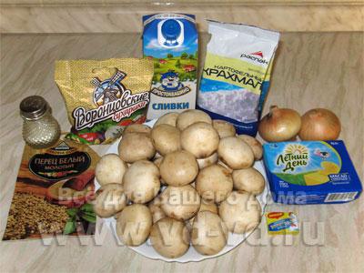 суп грибной из шампиньонов рецепт с фото