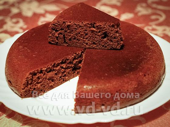Шоколадный торт мультиварка рецепт с фото