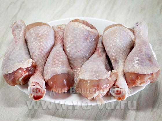 ингредиенты для жареной курицы