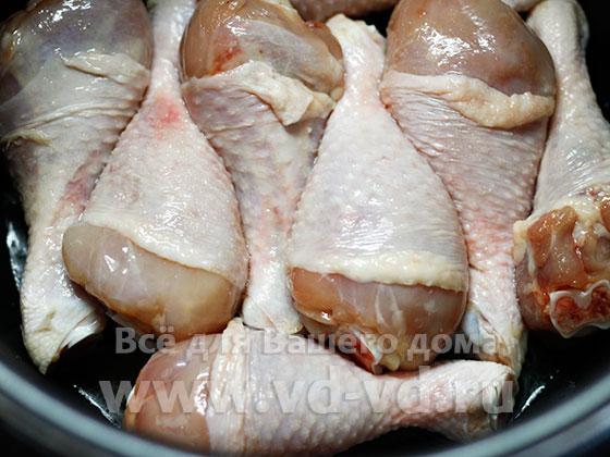 курица жирится в мультиварке