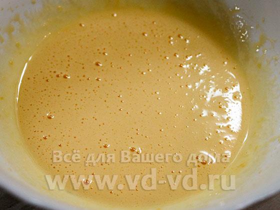 Яичные желтки перетёртые с сахаром