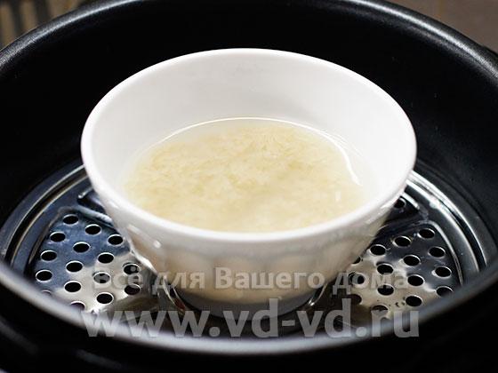 рис в мультиварке на пару