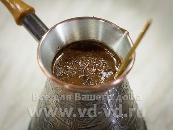 рецепты молотого кофе