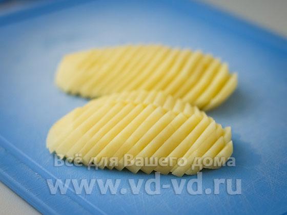 Картошка нарезанная тонко