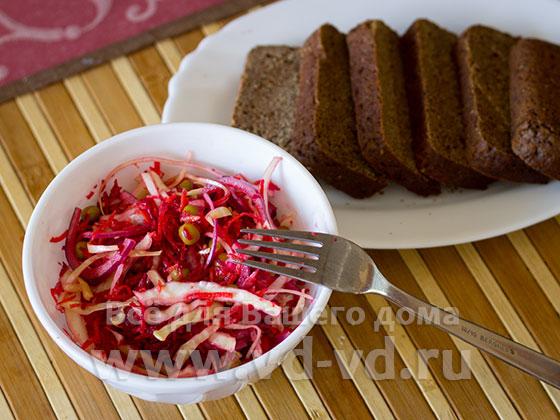 Салат 5 овощей готов