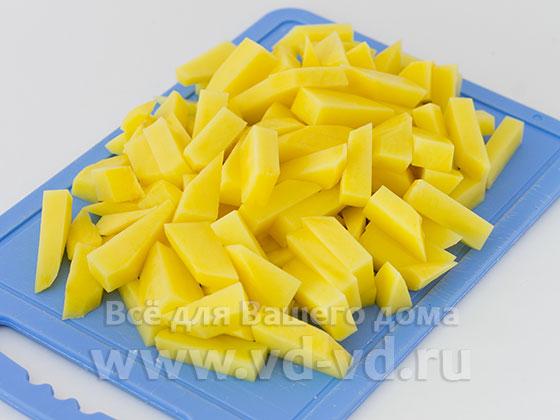 Картошка нарезанная брусочками