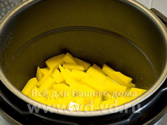 Мультиварка с картошкой сырой
