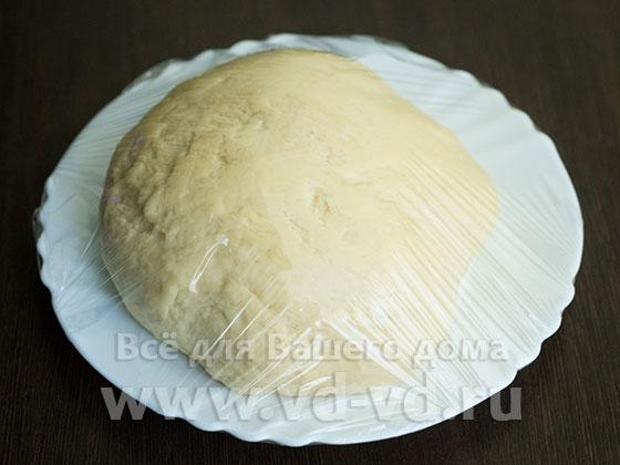 Тесто для пельменей в плёнке
