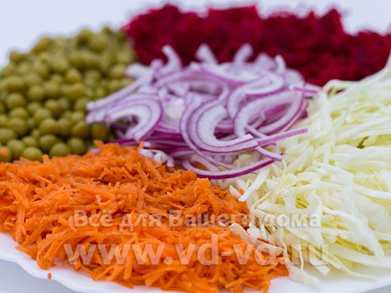 Салат 5 овощей