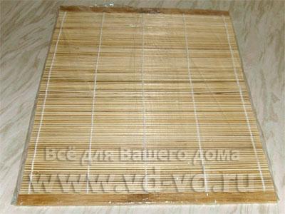 Бамбуковый коврик макису