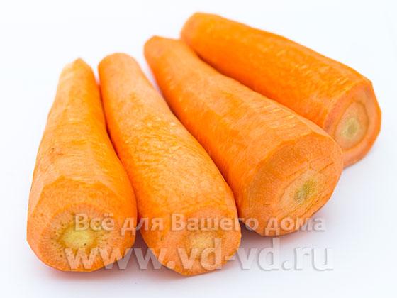 Морковь очищенная