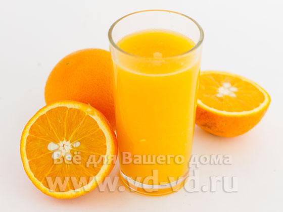 Сок из апельсинов готов