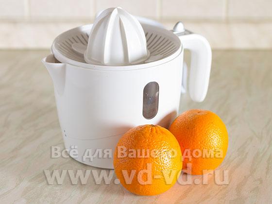 ингредиенты для сока из апельсинов