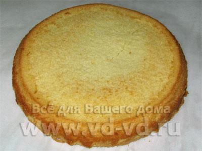 бисквит с майонезом рецепт