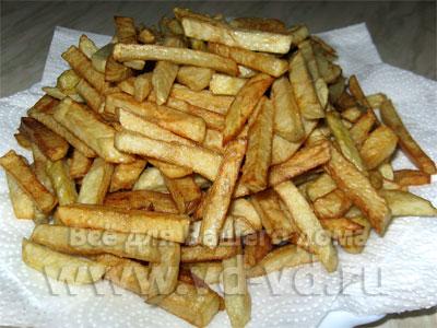 Картофель фри в домашних условиях - пошаговый рецепт 72