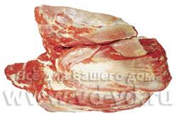 Части туши говядины, лопаточная часть
