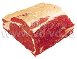 Части туши говядины, толстый край