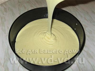 Бисквит на майонезе рецепт с пошагово в духовке