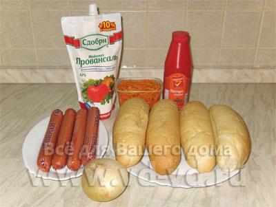 Как приготовить булочку для хот-дог в домашних условиях