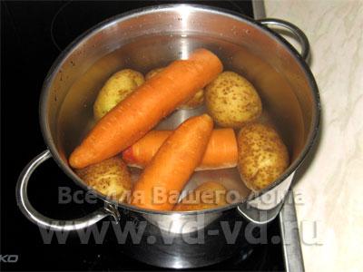 Как сварить овощи в мундире