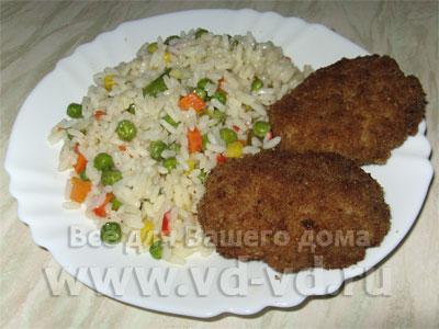 Блюда из куриного фарша - рецепты на Повар.ру