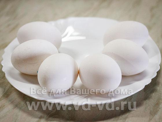ингредиенты для варки яиц