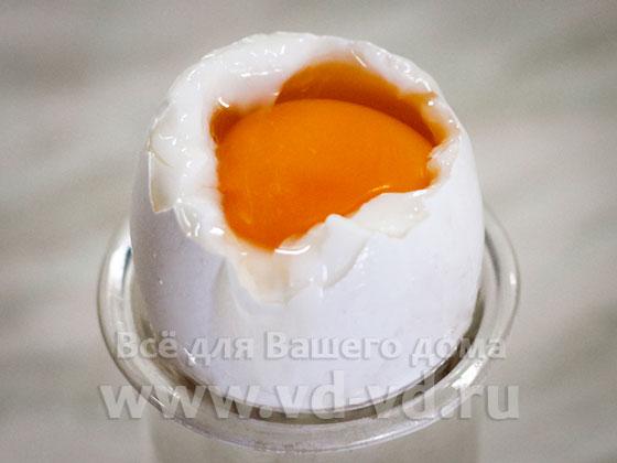 яйцо сваренное всмятку