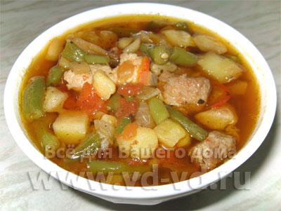 рецепт рагу овощное с картошкой с фото